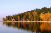 Fall in Sandpoint Idaho